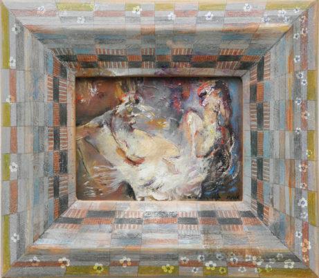 Obraz Romantická zahrada akademický malíř Jan Řeřicha Cardamine