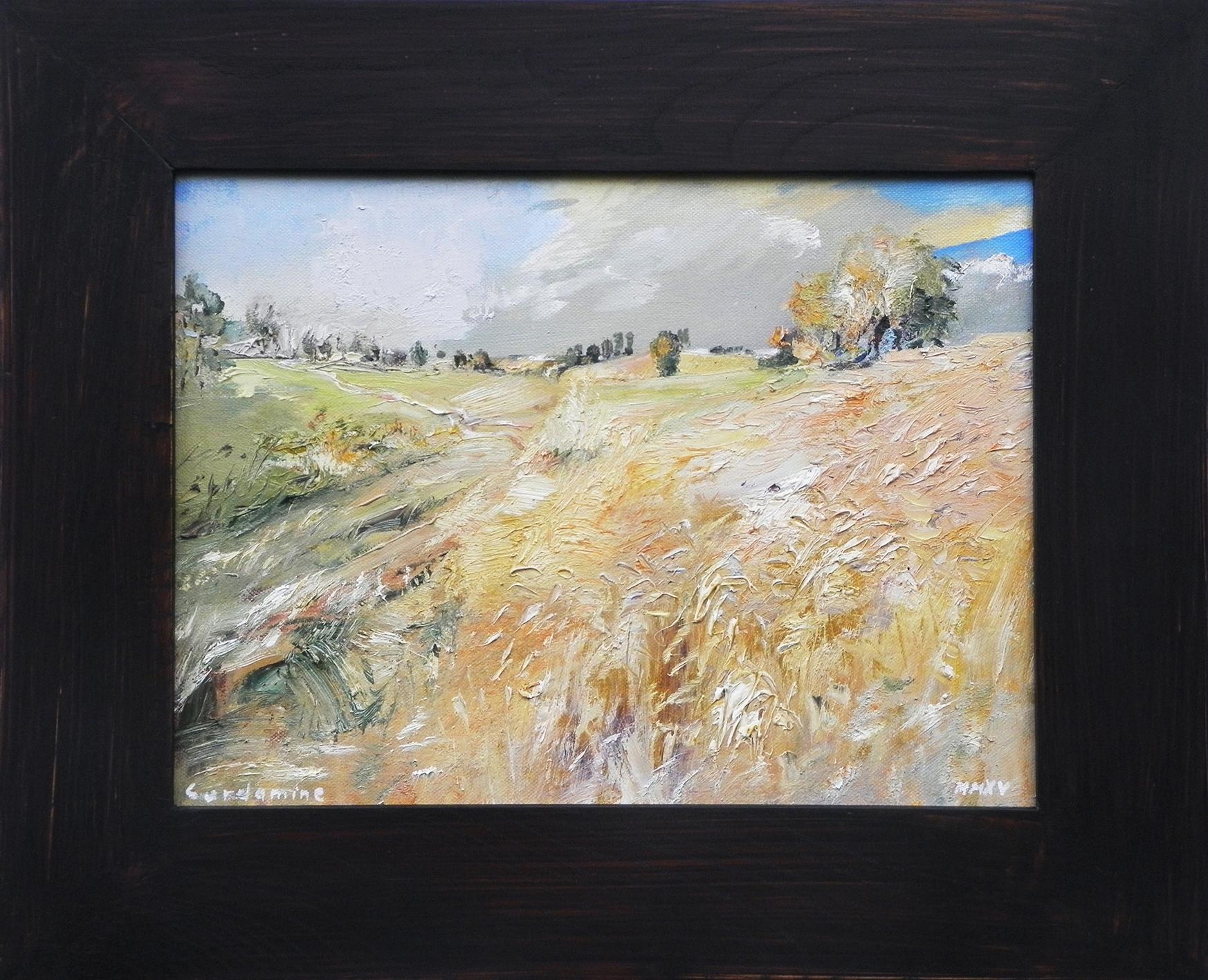 Obraz USmilových hor akademický malíř Jan Řeřicha Cardamine