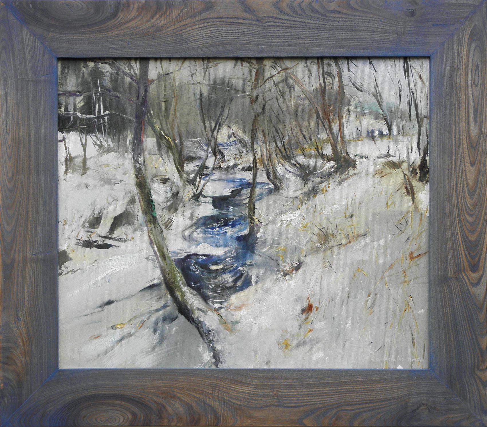 Obraz Zamrzlá Trnávka akademický malíř Jan Řeřicha Cardamine