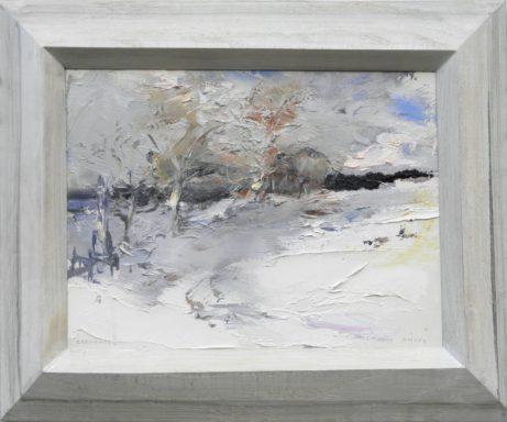 Obraz Křížek vpolích, akademický malíř Jan Řeřicha Cardamine, krajina