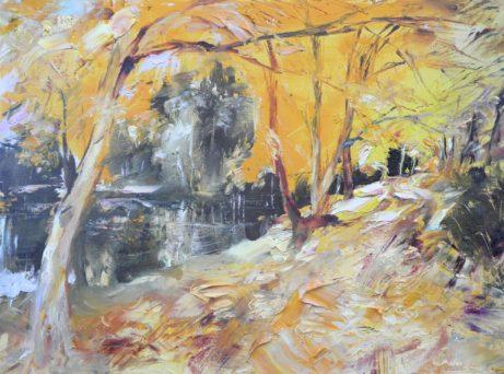 Obraz Cardamine Podzim - Zlaté listí