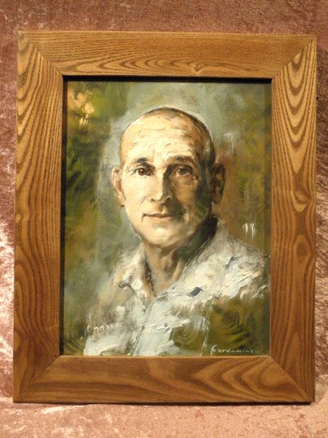 Obraz Podobizna Michael, akademický malíř Jan Řeřicha Cardamine, Zakázková tvorba