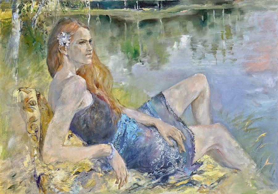 Obraz Jan Řeřicha Cardamine - Dívka urybníka