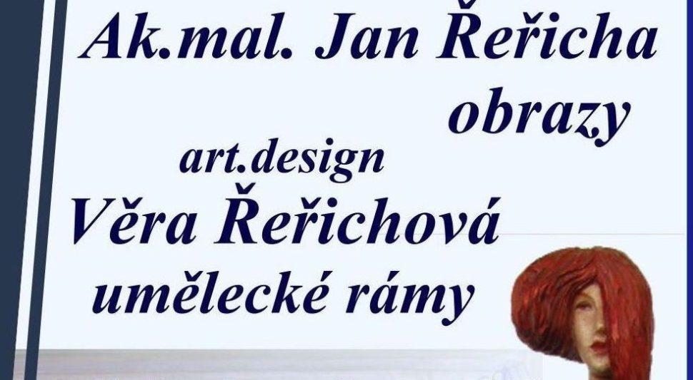 Pozvánka navýstavu obrazů mistra Jana Řeřichy - Cardamine